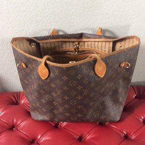 LV small Neverfull bag